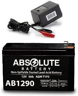 AB1290 12V 9AH Battery Viking Access I-8 Underground Gate Operator & Charger