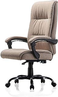 Silla Giratoria de Oficina Silla, Silla de oficina, escritorio Silla de oficina Silla con respaldo alto grande asiento y función de inclinación Ejecutivo giratoria ordenador silla negra, 3 colores