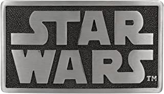 Star Wars - Mens Star Wars - Logo Belt Buckle Silver