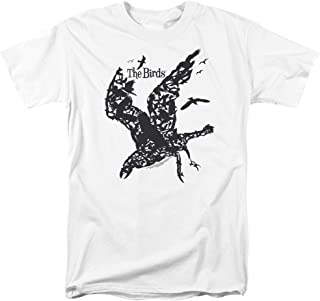 The Birds Alfred Hitchcock The Flock Adult Movie T-Shirt Tee