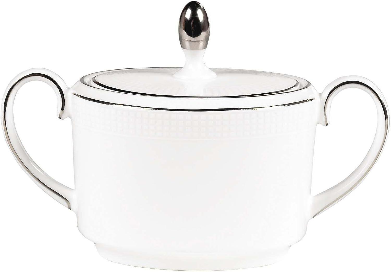 Wedgwood Max 82% Free shipping on posting reviews OFF Blanc Sur Sugar Bowl
