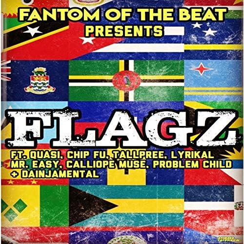 Fantom of the Beat feat. Talpree, Lyrikal, Problem Child, Mr. Easy, Chip Fu, Calliope Muse & DJ Danjaimental