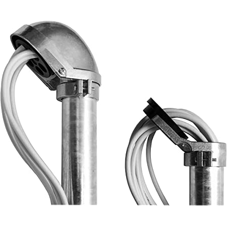 Premiumx Mastkappe Mit Kabeldurchführung Aluminium Sat Elektronik