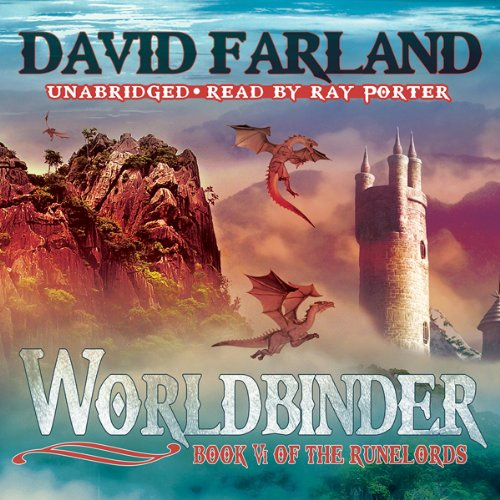 Worldbinder audiobook cover art