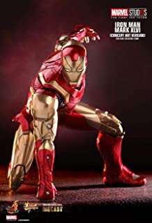 Hot Toys HT Iron Man Mark XLVI Mark46 Tony Stark Mark Concept Art Version diecast Metals LED Light Up1/6th Scale Collectible Action Figures Avengers 3 Infinity War Marvel The First Ten Years Exclusive