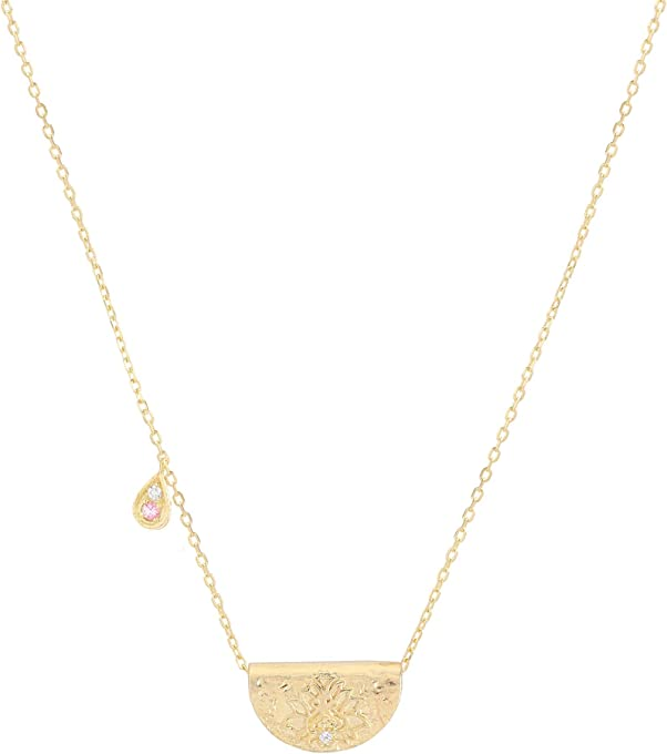 Radiate Your Light Necklace - October By Charlotte