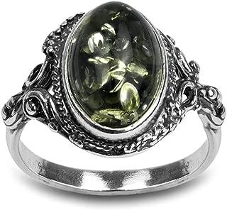 amber eternity ring