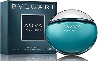 Bvl gari Aqva Pour Homme Eau De Toilette Spray for Men 5 FL. OZ./150 ml