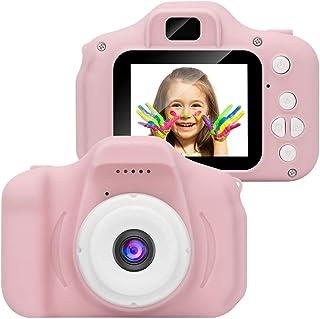 Kindercamera, digitale camera voor kinderen, 1080P HD-videocamera met 2-inch LCD-scherm 32G-geheugenkaart A4