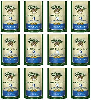 Greenies Feline Tuna SmartBites Hairball Control 1.6Lbs (12 x 2.1oz)