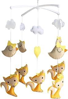 Baby Gift, mobile musical, jouets pour bébés, jouets pour bébés, [Yellow Fox]