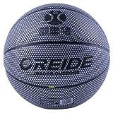 LDLXDR Balones de Baloncesto- Baloncesto de iluminación, Baloncesto Que Cambia de Color Colorido, Utilizado para Entrenamiento y Aprendizaje de Baloncesto en Interiores y Exteriores,White,Number-5