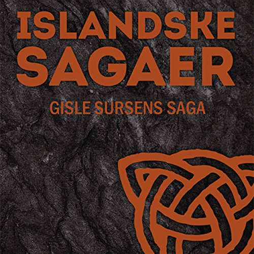 Gisle Sursens saga audiobook cover art