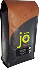 JO ESPRESSO: 2 lb, Medium Dark Roast, Whole Bean Organic Arabica Espresso Coffee, USDA..