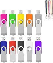 HKUU 10 Pack 32GB USB Flash Drive Memory Stick Thumb...
