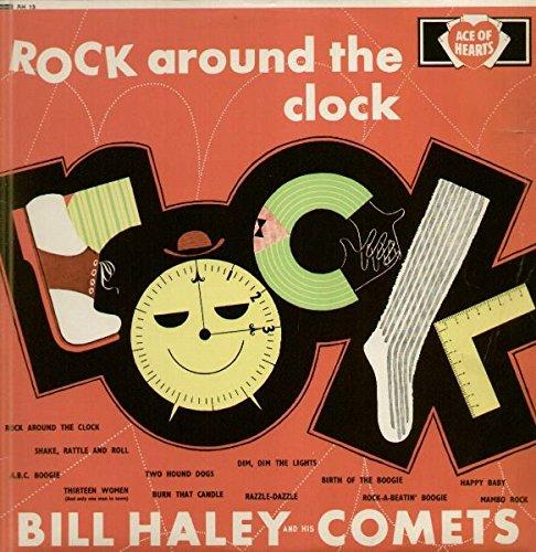 ROCK AROUND THE CLOCK LP (VINYL) UK ACE OF HEARTS