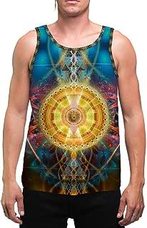 SunMatrix   Mens   Tank Top   Spiritual   Aesthetic   Clothing   Tanks   Rave   Psychedelic   Festival   Sacred Geometry   Cosmic