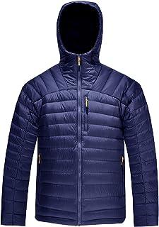 2777b0abb91b HARD LAND Men s Packable Down Jacket Hooded Lightweight Winter Puffer Coat  Outerwear