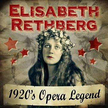 1920's Opera Legend