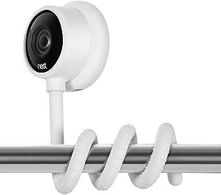 Wasserstein Versatile Twist Mount for Nest Cam Indoor, Flexible Gooseneck-Like Mount for Nest Indoor Camera - Attach Your ...