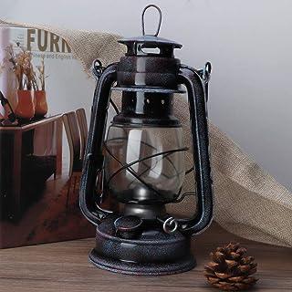 Vintage Oil Burning Lantern, Portable 24cm Classic Kerosene Lamp, Retro Kerosene Lantern Oil Lamp, Outdoor Camping Lights
