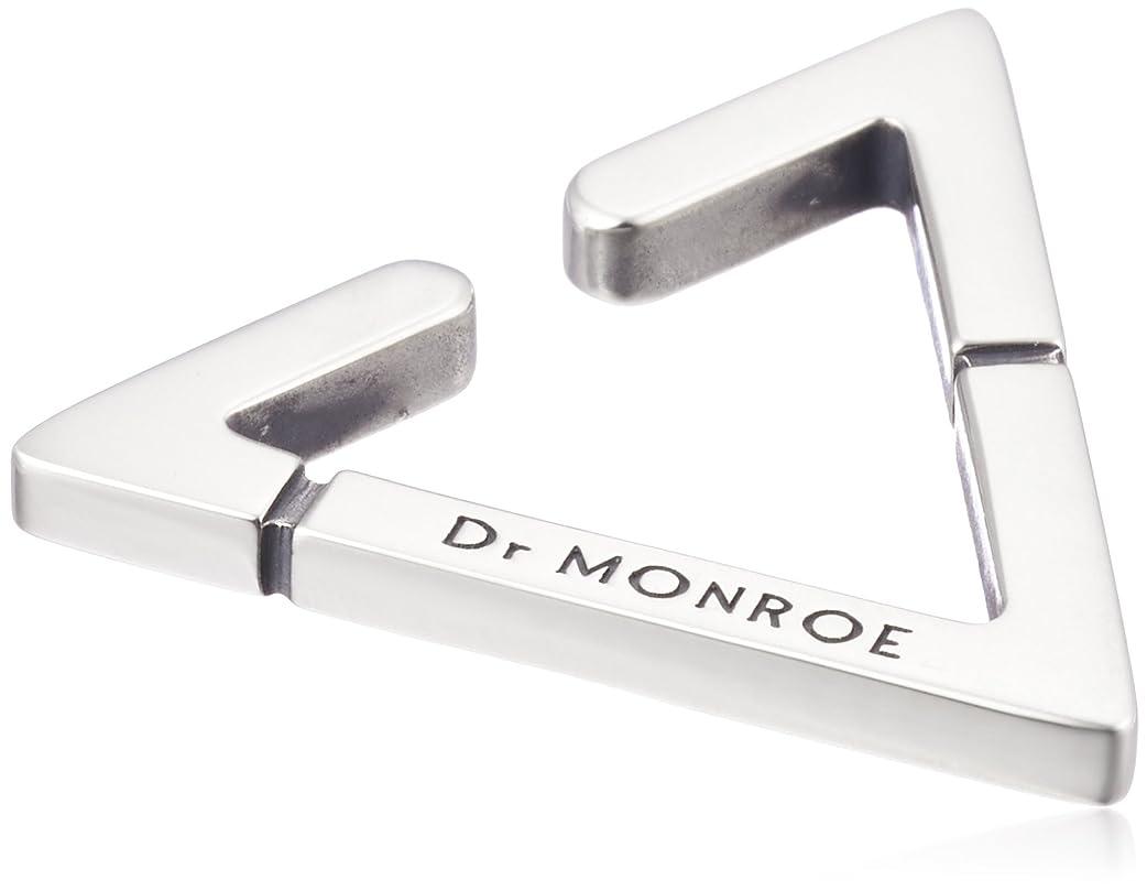 提出する裁量式[ドクターモンロー] Dr MONROE トライアングルイヤーカフL シルバー925 EC-09-SV