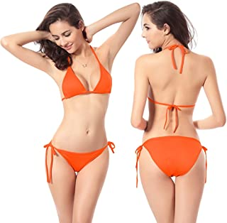 Women Sexy Halter Swimsuit Swimwear Bikini Set Bathing Suit Beachwear,Free Size