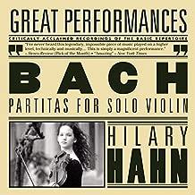 Bach: Partitas for Solo Violin