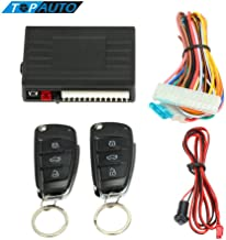 Car Alarm System with Remote Start Control Lock Trunk Release Button B M W e46 e90 Ford Focus 2 Volkswagen Mazda Jetta Securre Your Car Luxury Look