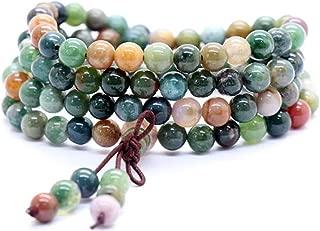 6mm Crystal Buddha Bracelet Prayer Bless Tibetan Buddhist Bracelet/Necklace for Women Girls