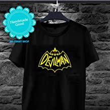 Devilman Crybaby - Demon Or Human Devilman Batman Logo Crossover Mashup Devilman Crybaby T-shirt for men and women