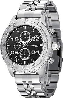 MINI FOCUS Men's Chronograph Quartz Watches Waterproof Stainless Steel Strap Watch with Calendar Luxury Classic Wristwatch...