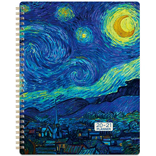 2020-2021 Planner - July 2020-June 2021 Weekly & Monthly Planner with to-Do List, 8' x 10', Check Boxes, Strong Twin-Wire Binding, Perfect for...