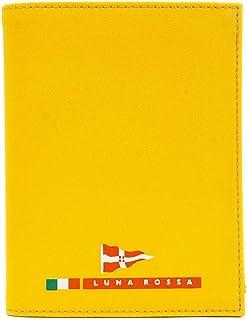 LUNA ROSSA ルナロッサ 二つ折り財布 LRM006 JHM F0022 GOLD イエロー [並行輸入品]