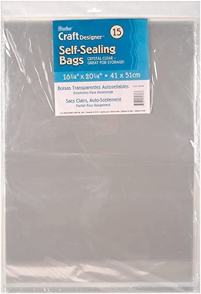 Darice Clear Archival Bags 30 Piece
