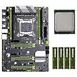 Cimoto X79-P3 LGA 2011 ATX placa base para juegos, memoria DDR3, NVME M.2 SSD compatible con Xeon Core CPU (con E5-2650 CPU)