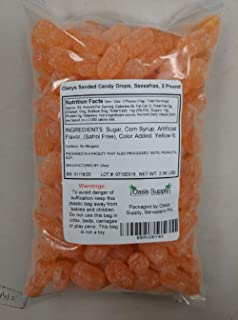 Claeys Sanded Candy Drops, Sassafras, 2 Pound