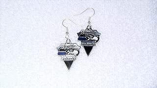 Seattle Seahawks NFL Football Pair of Earrings Jewelry Piercing Sports Fan #IS-321