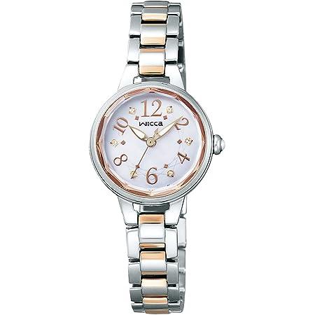 [シチズン]CITIZEN 腕時計 wicca ウィッカ ソーラーテック プレミアム / ティアラ シンプルアジャスト KH8-519-93 レディース