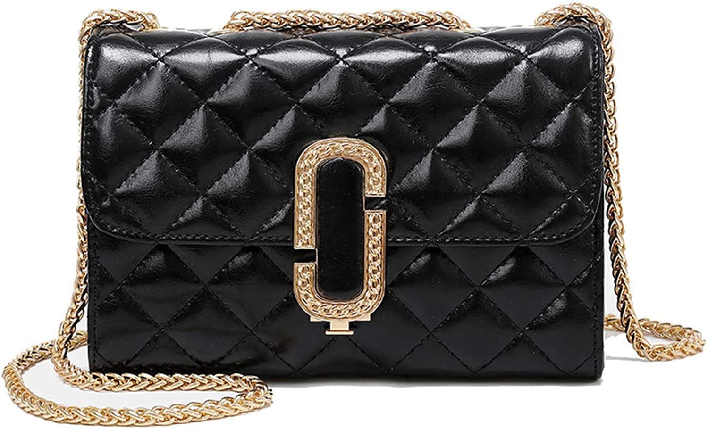Agnes Frauen Europa Und Amerika Trend Fashion Joker Chain Lingge Cowboy Crossbode Shoulder Bag Small Square Bag