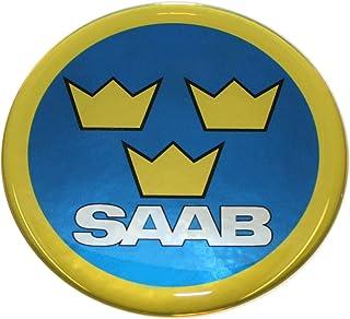 LBPLWY Keychain Llavero,Llavero De Estilo De Escudo De Metal Saab Scania Emblema 93 9-3 900 9000 Llavero De Moda Mejor Regalo Accesorios De Coche
