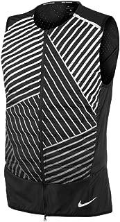 Mens Aeroloft Flash Reflective Running Vest, Black
