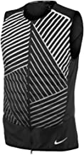 Nike Mens Aeroloft Flash Reflective Running Vest, Black