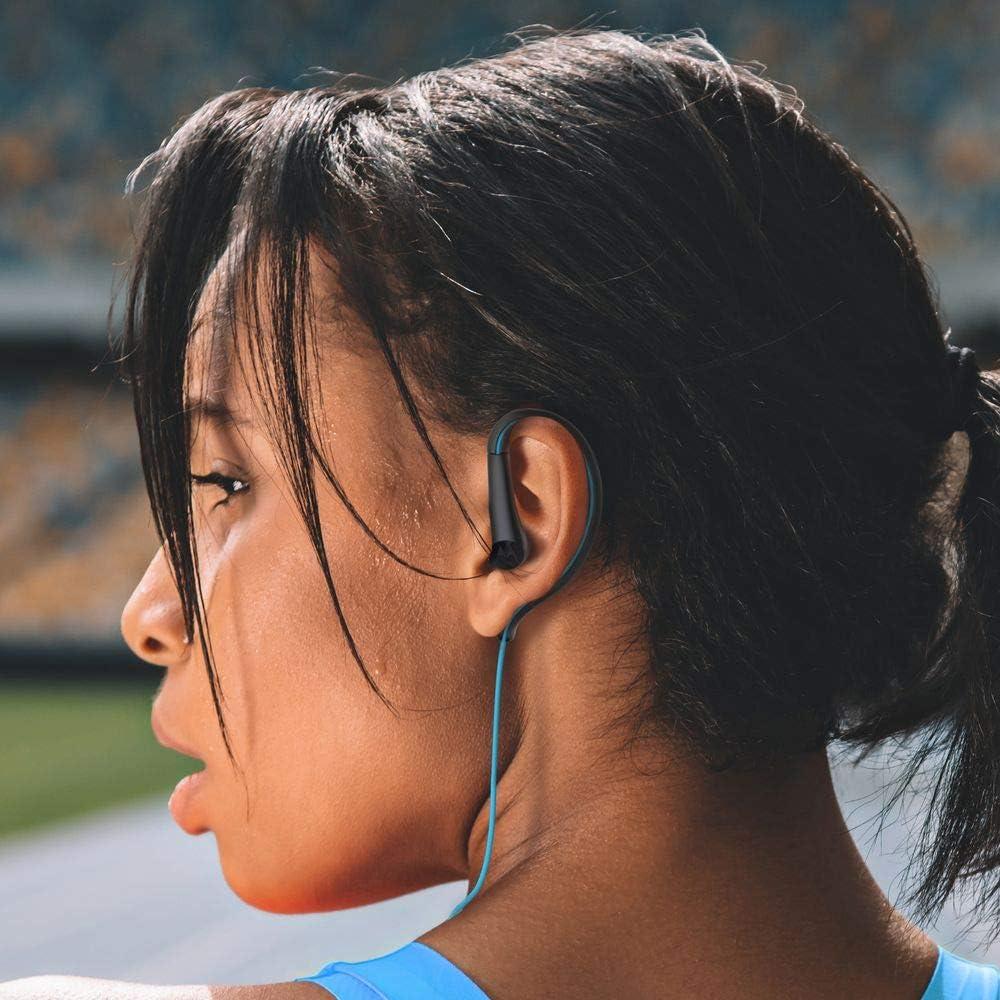 MotorolaEarbuds,SportWater Resistant In-Ear Headphones - Blue (SH008 BL)