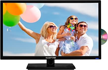 "Sceptre E246BD-F 24"" 1080p 60Hz Class LED HDTV with DVD Player/True 16:9 Aspect Ratio View Your Movies as The Director Intended 1920 x 1080 Full HD Resolution"