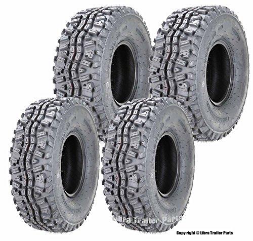 Set of 4 ATV tires 24x9-10 Front & 24x11-10 Rear 6PR