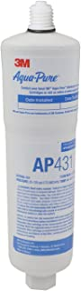 3M AquaPure AP431 Scale Inhibition Replacement Cartridge, Easy Change High Capacity Water Filter for AP430SS