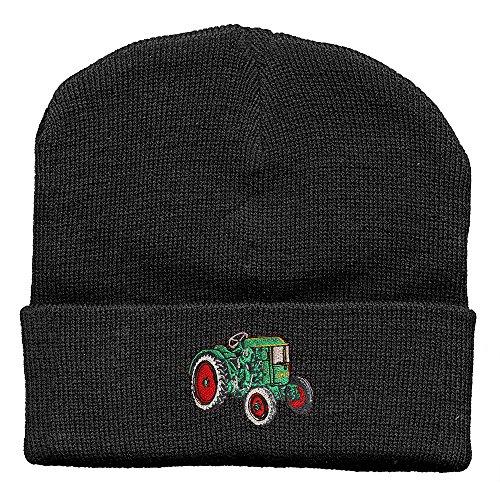 Fan-O-Menal Hip-Hop Mütze Traktor Deutz grün 51248 schwarz