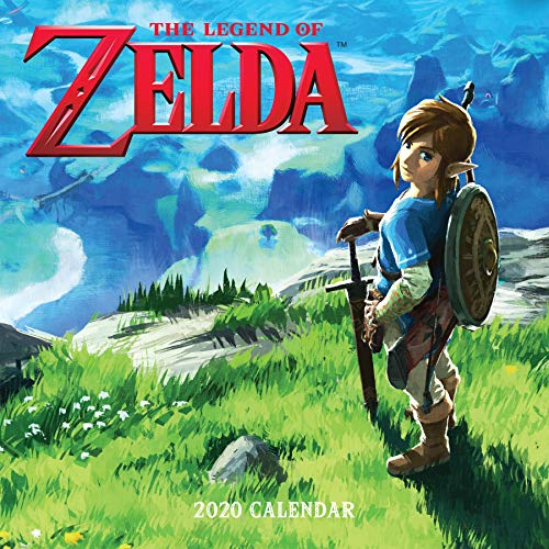 Legend of Zelda 2020 Wall Calendar