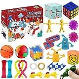 SXZHSM Fidget Toys, Alivia Estrés y la Ansiedad Toy, Fidget Toys Pack Juguetes Antiestres Push Bubble Fidget Juguete para Niños, Autismo Regalos para niños, Recompensas en el Aula de la Escuela